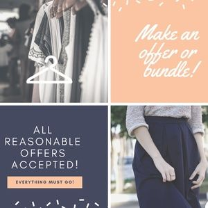 Accessories - Make a bundle! All reasonable offers accepted!